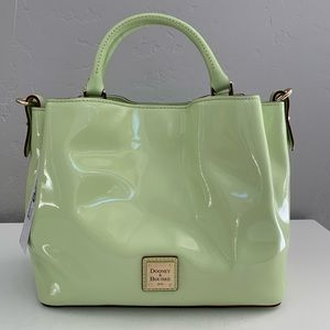 Dooney & Bourke Patent Leather Small Brenna Bag